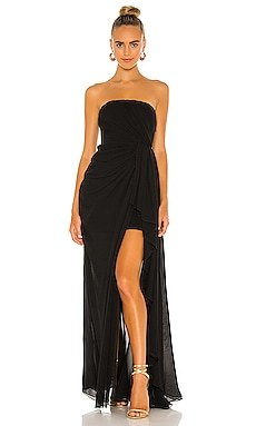Solid Yuki Gown Cinq a Sept $695