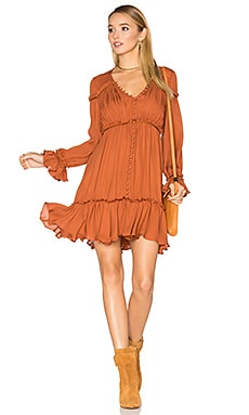 Ashburn Dress in Terracotta