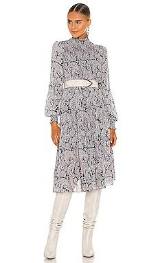 Long Rika Dress Cinq a Sept $396