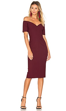 Birch Dress in Mulberry