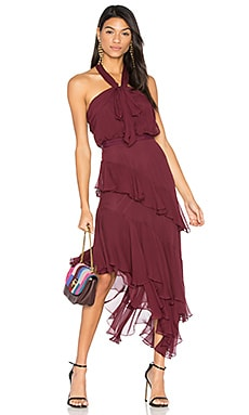 Valle Dress in Currant
