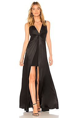 Купить Вечернее платье elio - Cinq a Sept черного цвета