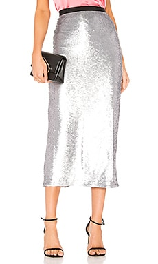 Sequin Paula Skirt Cinq a Sept $135