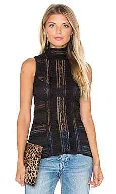 Sleeveless Antonia Turtleneck Top