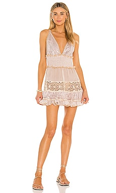 Paillettes And Lace Short Dress CHIO $546