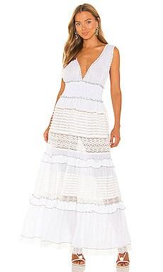 Ruffle Maxi Dress CHIO $337