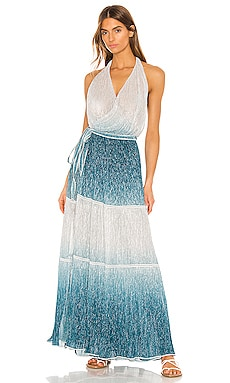 Maxi Wrap Dress CHIO $546 NEW ARRIVAL