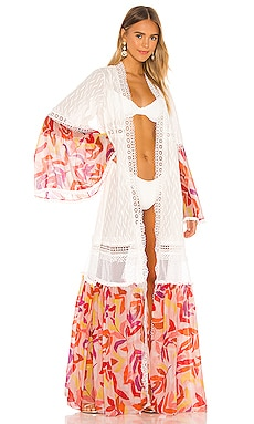 Long Silk Robe CHIO $876