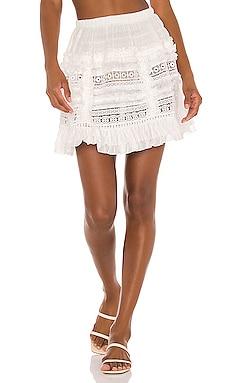 Macrame Fringed Skirt CHIO $237