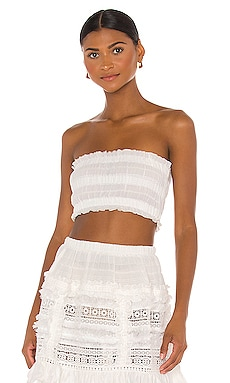 Ruched Tube Top CHIO $145 BEST SELLER