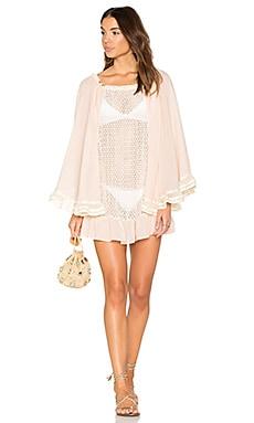 Ruffle Mini Dress in Pink