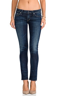 Citizens of Humanity Racer Low Rise Skinny in Patina