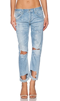 Citizens of Humanity Premium Vintage Emerson Distressed Skinny in Wasteland