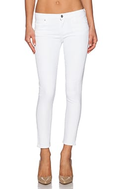 Avedon Ankle Skinny in Optic White