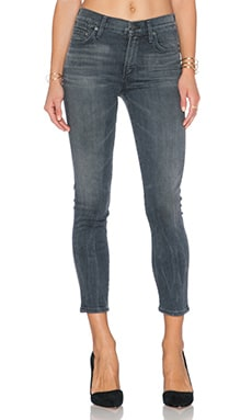 Citizens of Humanity Rocket High Rise Skinny Crop in Cinder