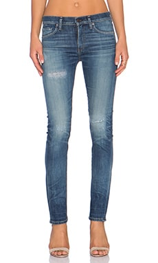 Citizens of Humanity Premium Vintage Agnes Mid Rise Slim Straight in Rocker
