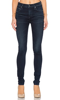 Citizens of Humanity Rocket Mid Rise Skinny in Midnight Blue