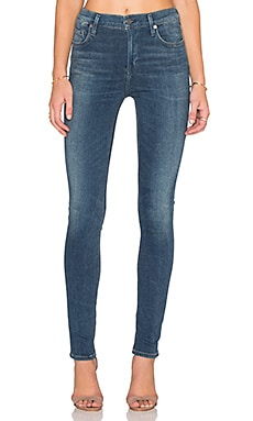 Citizens of Humanity SCULPT Rocket High Rise Skinny in Eden