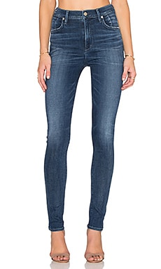 Citizens of Humanity SCULPT Carlie High Rise Skinny in Spritz