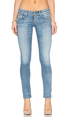 Citizens of Humanity Racer Low Rise Skinny in Echo