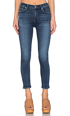 SCULPT Rocket High Rise Crop Skinny in Spritz