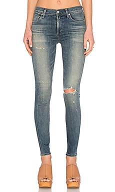 Citizens of Humanity Rocket Premium Vintage High Rise Skinny in Break Em In