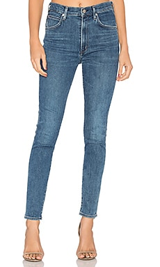 Chrissy Uber High Rise Skinny en Hotline