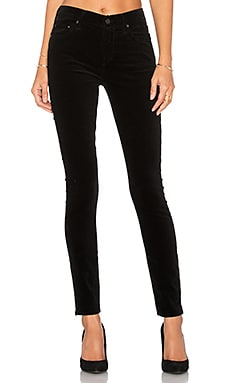 Rocket High Rise Skinny in Black