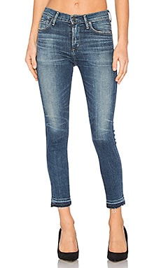 Rocket High Rise Crop Skinny in Weekender