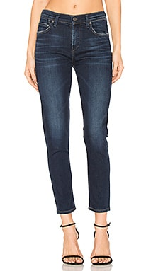 Rocket High Rise Crop Skinny in Starlite