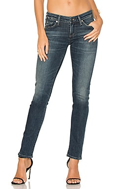 Racer Low Rise Skinny in Delta Dawn