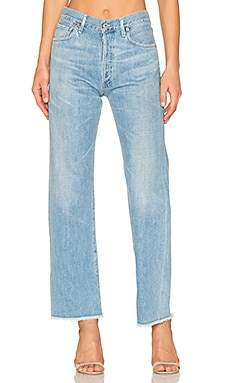 Parker Relaxed Cuff Crop in Cascade