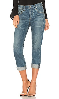 Emerson Cuff Slim Fit Boyfriend Ankle