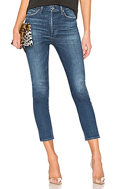 Olivia Crop High Rise Slim Citizens of Humanity $228