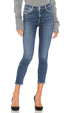 Rocket Crop Mid Rise Skinny Citizens of Humanity $198