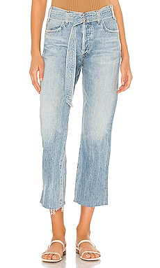 Belted Emery High Rise Relaxed Crop Citizens of Humanity $181
