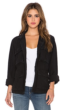Citizens of Humanity Premium Vintage Kylie Jacket in Vintage Black
