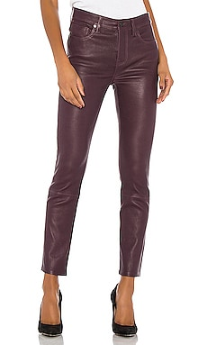 Harlow Ankle Leather Pant Citizens of Humanity $410
