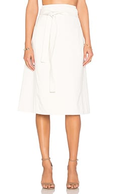 Donna Wrap Skirt en Naturel