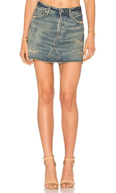 Cut Off Mini Skirt en Greenpoint