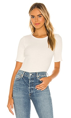 Annie Short Sleeve Rip Top Citizens of Humanity $98 NEW