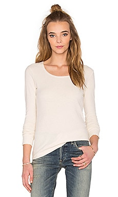 Citizens of Humanity Ellie Long Sleeve Tee in Natural