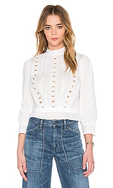 Citizens of Humanity Josie Top in White