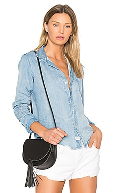 Barry Button Down in Light Denim