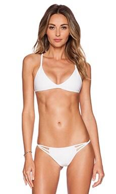 Cami + Jax Leila Bikini Top in White