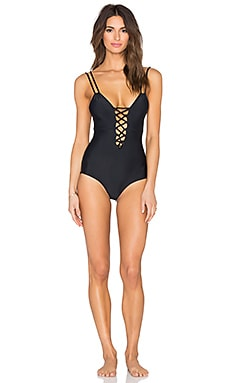 CAMI AND JAX Marla One Piece in Black