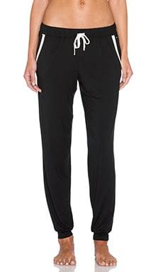 Calvin Klein Underwear CK Premium Vivid PJ Pant in Black