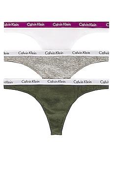 Carousel Multipack Thong Calvin Klein Underwear $35