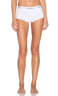 Modern Cotton Boy Short en Blanc
