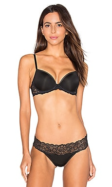 Calvin Klein Underwear Seductive Comfort Demi Lift Multiway Bra in Black